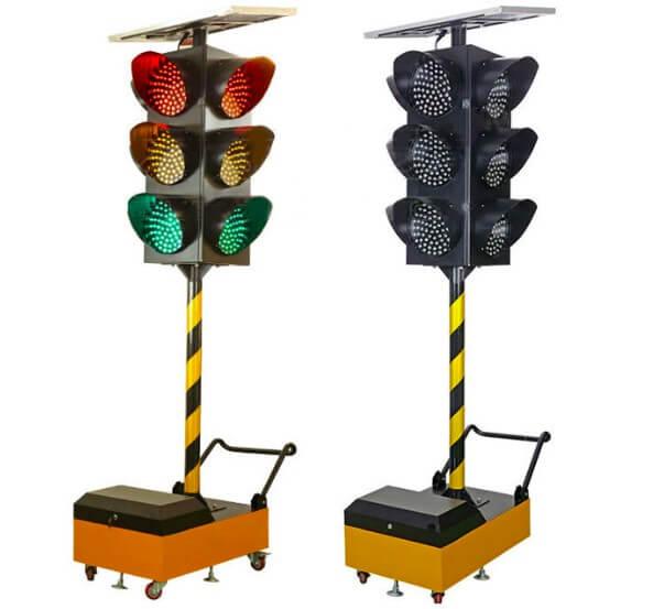 Đèn báo giao thông năng lượng mặt trời HG-TL0907 (75W)