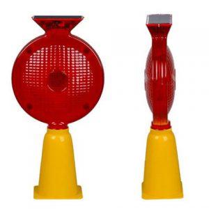 Đèn cảnh báo giao thông năng lượng mặt trời HG-TL0866