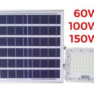 Đèn pha LED sạc điện mặt trời HG-FL90 (60-100-150W)