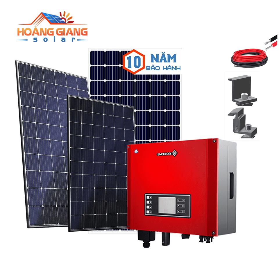 Gói điện mặt trời cho gia đình